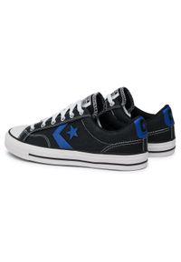Czarne buty sportowe Converse z cholewką, na co dzień