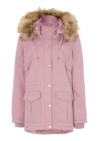 Różowa kurtka Cellbes elegancka