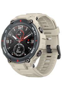 AMAZFIT - Amazfit smartwatch T-Rex, Khaki. Rodzaj zegarka: smartwatch. Kolor: brązowy. Styl: sportowy, militarny