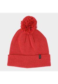 Czerwona czapka zimowa Everhill melanż