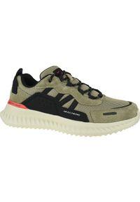 Brązowe sneakersy skechers z cholewką