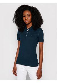 Tommy Jeans Polo Tjw Original Basic DW0DW04434 Granatowy Regular Fit. Typ kołnierza: polo. Kolor: niebieski