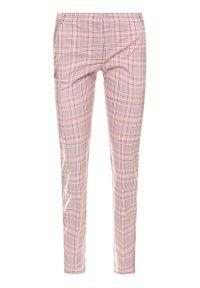 Różowe spodnie materiałowe iBlues