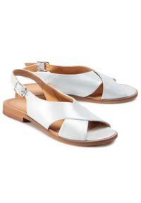 Srebrne sandały Lasocki casualowe, na co dzień