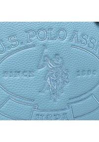 U.S. Polo Assn - Torebka U.S. POLO ASSN. - New Hailey Shopping BEUHF5157WVP214 Denim. Kolor: niebieski. Materiał: skórzane. Styl: klasyczny