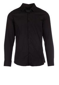 Czarna koszula biznesowa Born2be