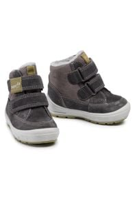 Szare buty zimowe Superfit na spacer