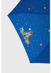 MOSCHINO - Moschino - Parasol 8323.skyblue. Kolor: niebieski