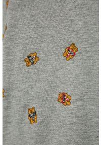 Szara bluza Guess bez kaptura, na co dzień, casualowa, z haftami