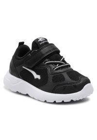 Bagheera - Sneakersy BAGHEERA - Moxie 86520-4 C0108 Black/White. Okazja: na co dzień. Zapięcie: rzepy. Kolor: czarny. Materiał: skóra, materiał. Szerokość cholewki: normalna. Styl: casual