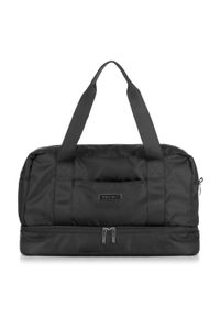 Czarna torba podróżna Wittchen
