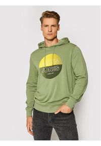 Jack & Jones - Jack&Jones Bluza Fading 12191999 Zielony Regular Fit. Kolor: zielony