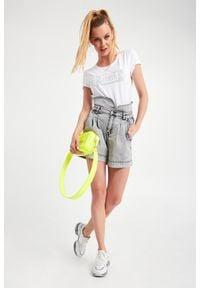 TwinSet - SPODENKI JEANSOWE TWINSET ACTITUDE. Stan: podwyższony. Materiał: jeans #4