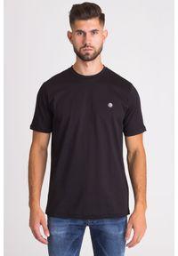 Czarny t-shirt Diesel z nadrukiem