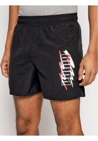 Puma Szorty sportowe Ess+ Summer 586744 Czarny Regular Fit. Kolor: czarny