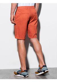 Czerwone szorty Ombre Clothing na lato, krótkie, casualowe, na co dzień #4