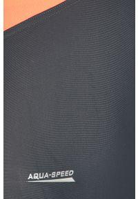Szary strój kąpielowy Aqua Speed z odpinanymi ramiączkami