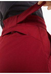 Czerwone spodnie bonprix długie