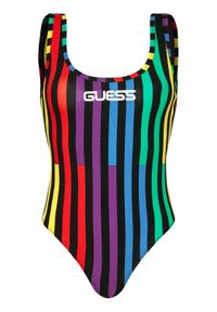 Guess Body J BALVIN W0FI0Z R1D86 Kolorowy Regular Fit. Wzór: kolorowy