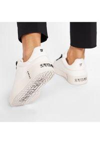 Białe buty sportowe SuperTrash