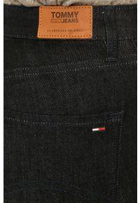 Niebieskie jeansy Tommy Jeans z podwyższonym stanem