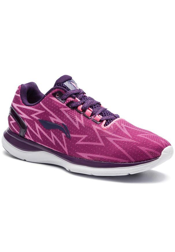 Różowe buty do biegania Li-Ning z cholewką