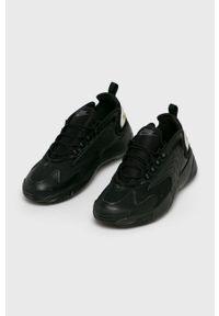 Czarne sneakersy Nike Sportswear na sznurówki, z cholewką