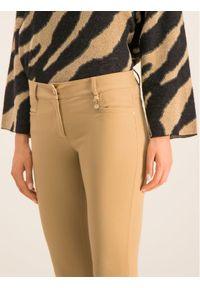 Brązowe spodnie materiałowe Pennyblack