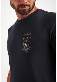 Aeronautica Militare - T-SHIRT AERONAUTICA MILITARE. Materiał: bawełna. Wzór: haft