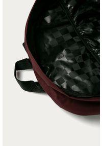 Fioletowy plecak Vans z aplikacjami