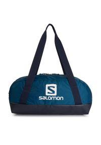 Niebieska torba sportowa salomon