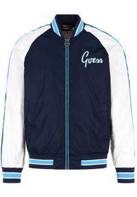 Niebieska kurtka bomberka Guess