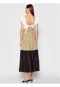 Rinascimento Sukienka codzienna CFC0103592003 Kolorowy Regular Fit. Okazja: na co dzień. Wzór: kolorowy. Typ sukienki: proste. Styl: casual