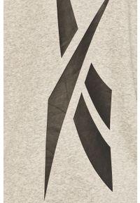 Reebok - Bluza. Kolor: szary