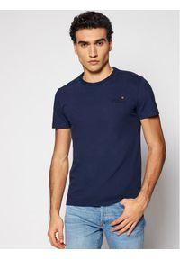 Superdry T-Shirt Ol Vintage Emb Tee Ns M1010206A Granatowy Regular Fit. Kolor: niebieski. Styl: vintage