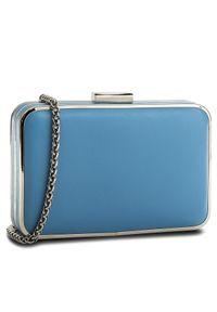 Niebieska torebka Kazar z aplikacjami