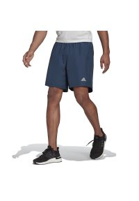Adidas - adidas Run It Shorts > GJ9937. Materiał: poliester. Sport: bieganie