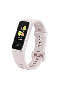 HUAWEI - Opaska sportowa Huawei Band 4 różowy. Rodzaj zegarka: cyfrowe. Kolor: różowy. Styl: sportowy