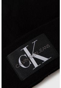 Calvin Klein Jeans - Czapka. Kolor: czarny