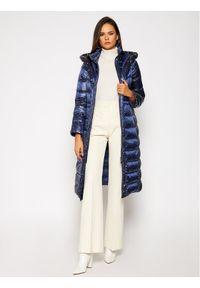 Niebieska kurtka puchowa Marella