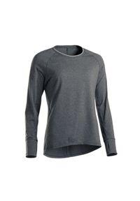 Bluza sportowa DOMYOS na jogę i pilates, długa, z długim rękawem