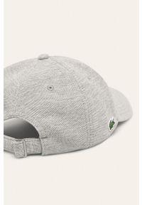 Szara czapka z daszkiem Lacoste