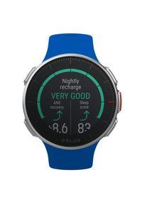 Niebieski zegarek POLAR cyfrowy, sportowy