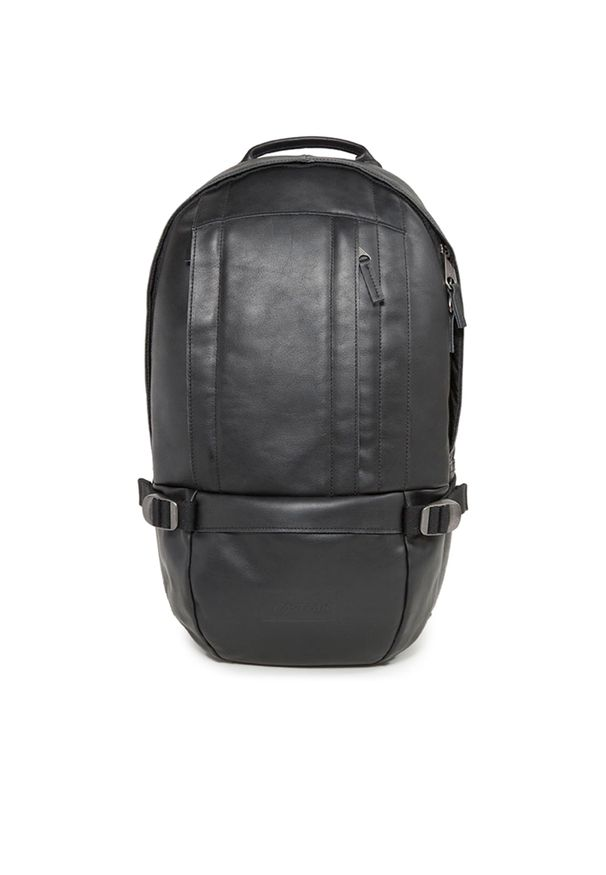 Czarny plecak Eastpak elegancki, w paski