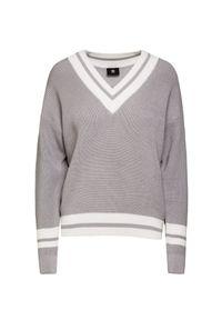 Szary sweter Bogner na co dzień, sportowy