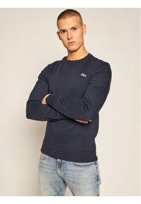 Lacoste Bluza SH1505 Granatowy Regular Fit. Kolor: niebieski