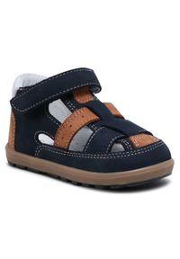Bartek - Sandały BARTEK - 11694-004 Niebiesko Beżowy. Kolor: niebieski. Materiał: skóra, nubuk. Sezon: lato. Styl: wakacyjny