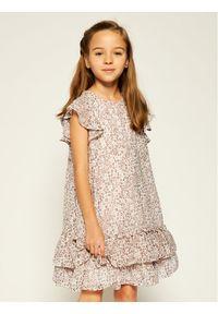 Beżowa sukienka Mayoral elegancka