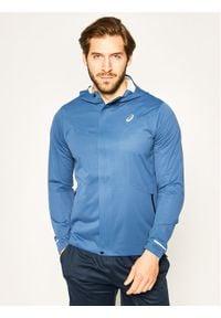 Niebieska kurtka do biegania Asics