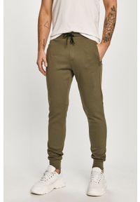 Oliwkowe spodnie dresowe TOMMY HILFIGER